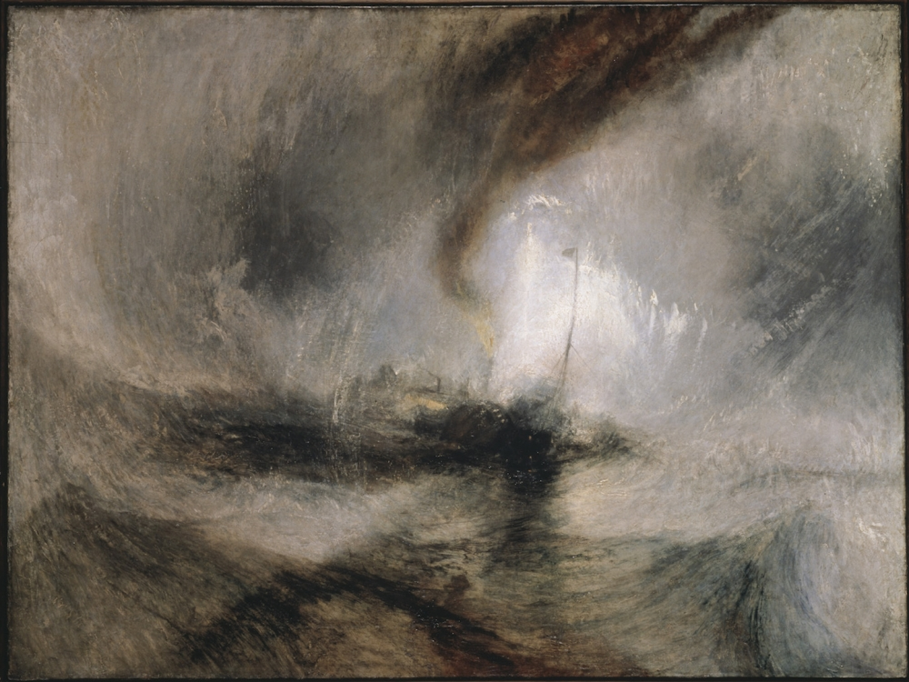 20170726 J M W  Turner Snow Storm Steam Boat Off A Harbours Mouth Exhibited 1842