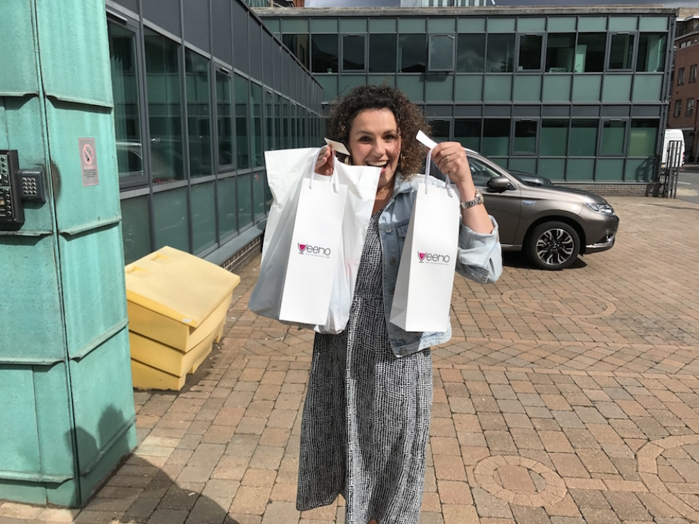 2017 08 03 Deliveroo Office Drinks Veeno Bags