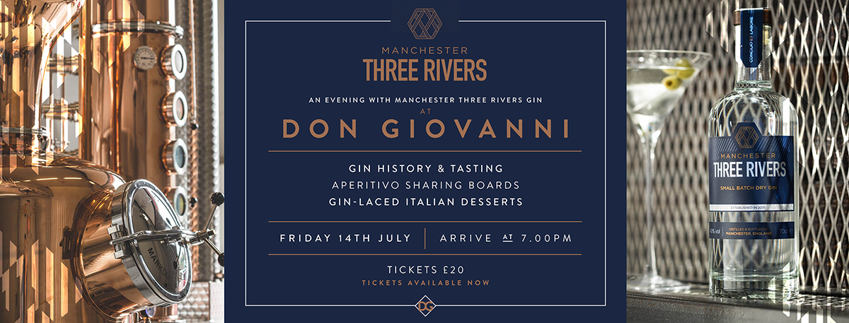 20170706 Don Gio Three Rivers Gin Event