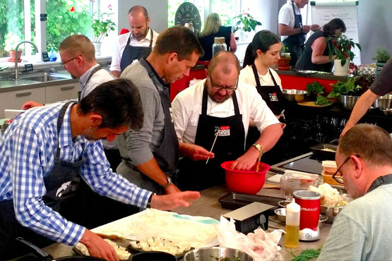 About us confidentials for Team building cuisine