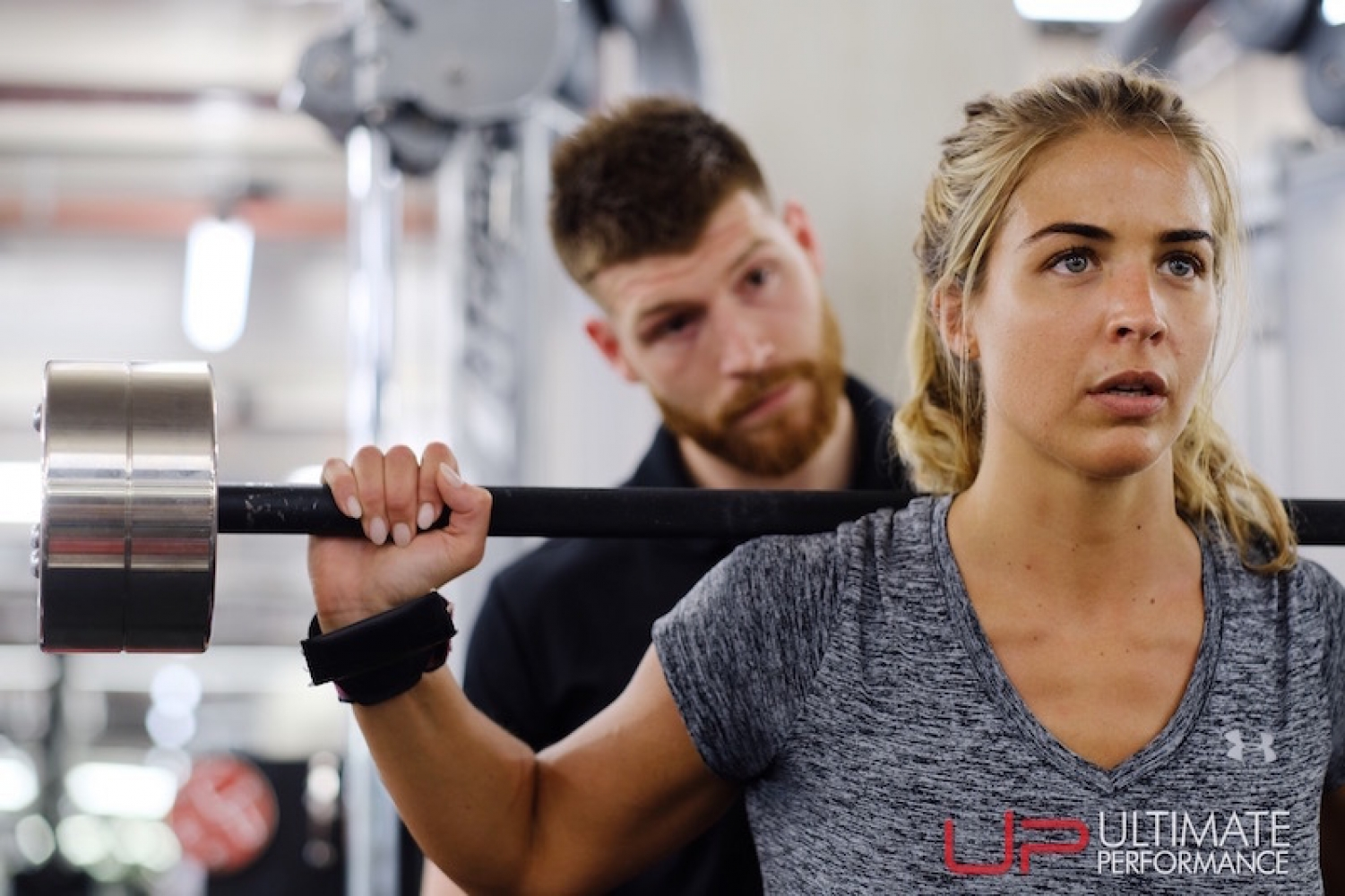 Gemma Atkinson Ultimate Performance Xyz Barbell