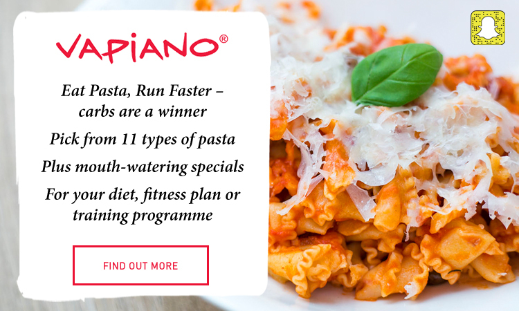 2017 04 12 - Vapiano Eat Pasta Run Faster
