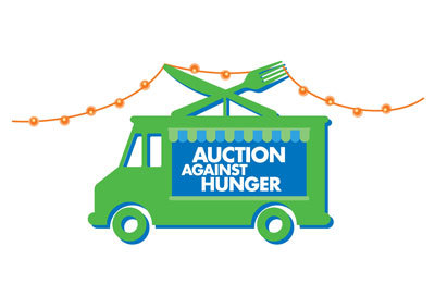 Auction Against Hunger Van Logo
