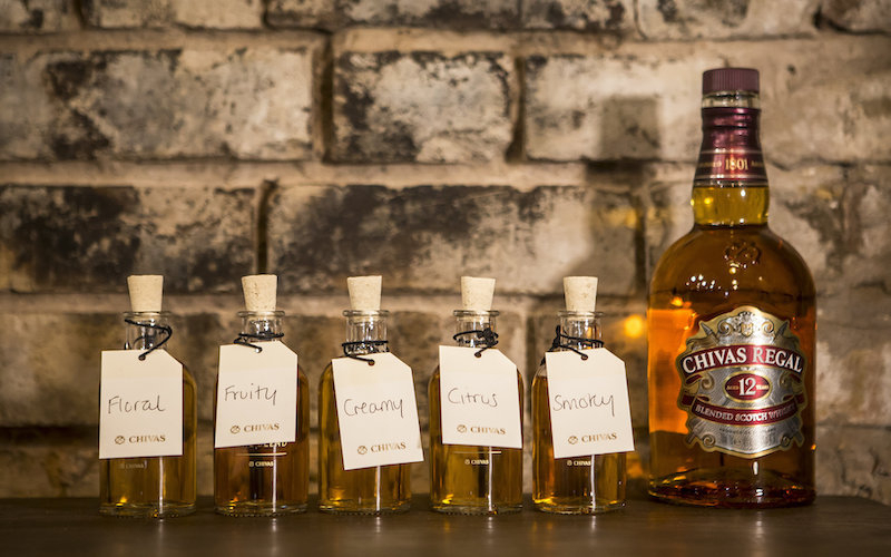 Create the ultimate dram with Chivas: The Blend