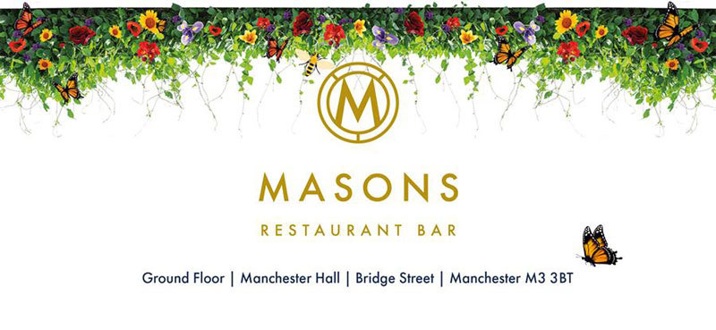 Masons Restaurant Bar | Ground Floor, Manchester Hall, Bridge Street, Manchester, M3 3BT