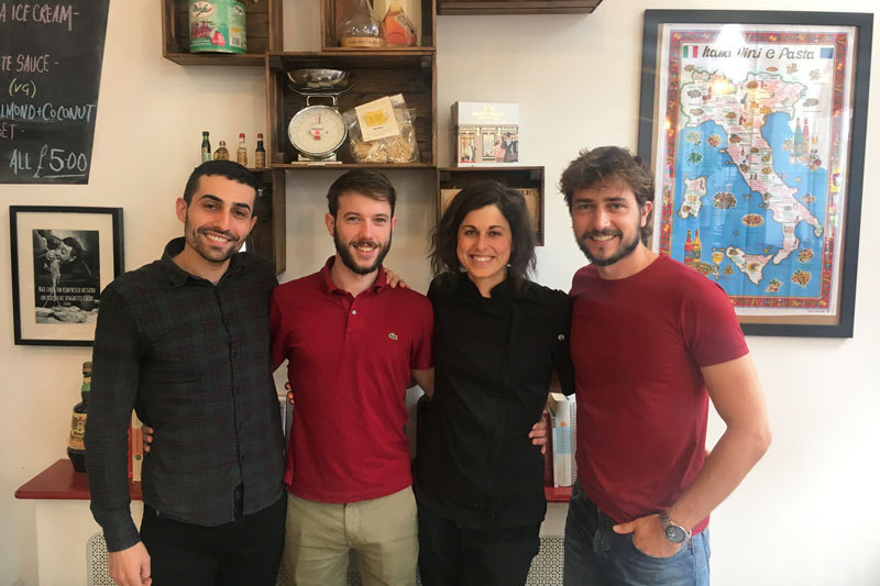Noi Quattro is the idea of Elisa, Alberto, Daniele and Paolo
