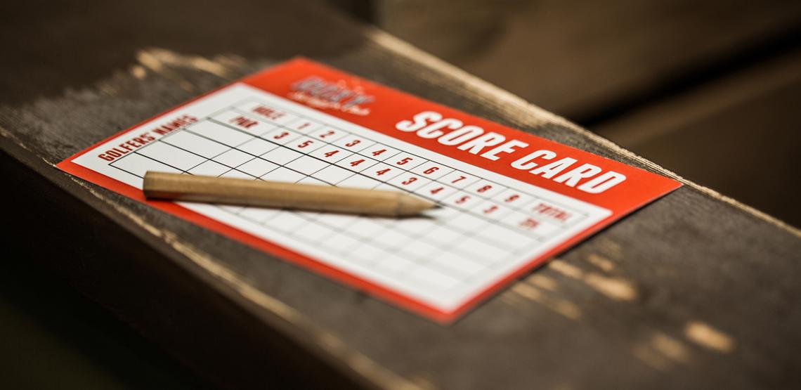 20180216 Roxy Golf Score Card