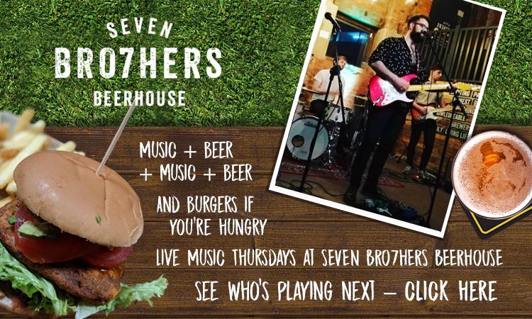 2018 09 17 Seven Bros live music Thursday