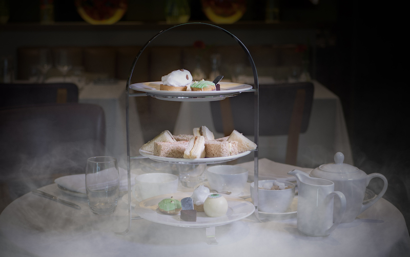 The Halloween Afternoon Tea At The Lowry Hotel