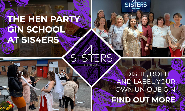 2019 12 05 Four Sis4ers Hen party banners