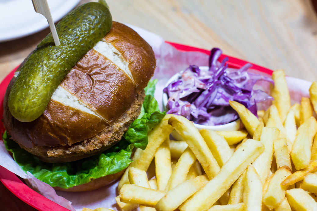 20190225 Font Mcr Lunch Veggie Burger 1