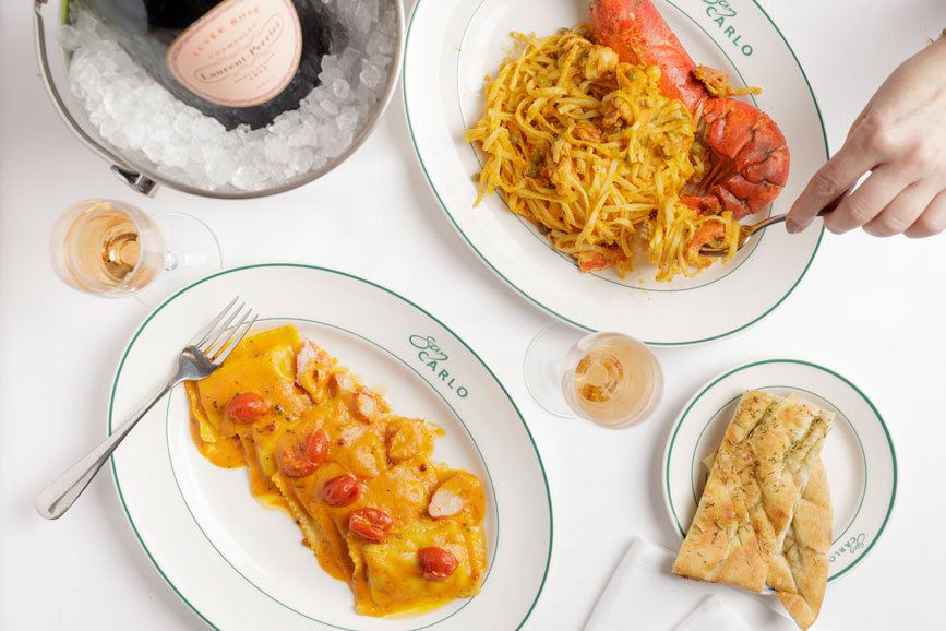 20191116 San Carlo Lobster Ravioli And Pasta Lifestyle 867X578