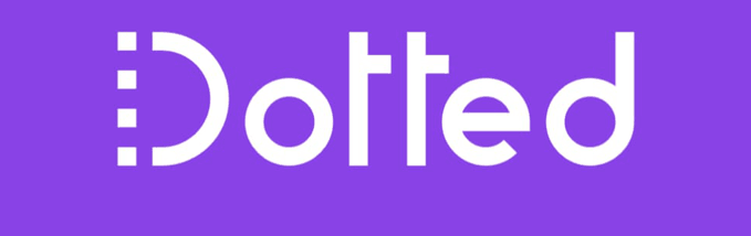 Dotted White Logo 679X214