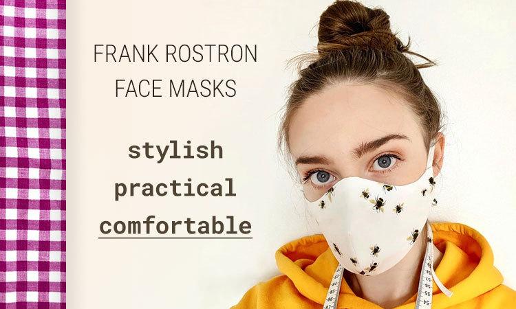 2020 05 18 Frank Rostron Face Masks