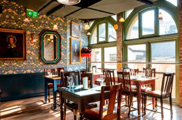 The Cosy Club Restaurant Interior