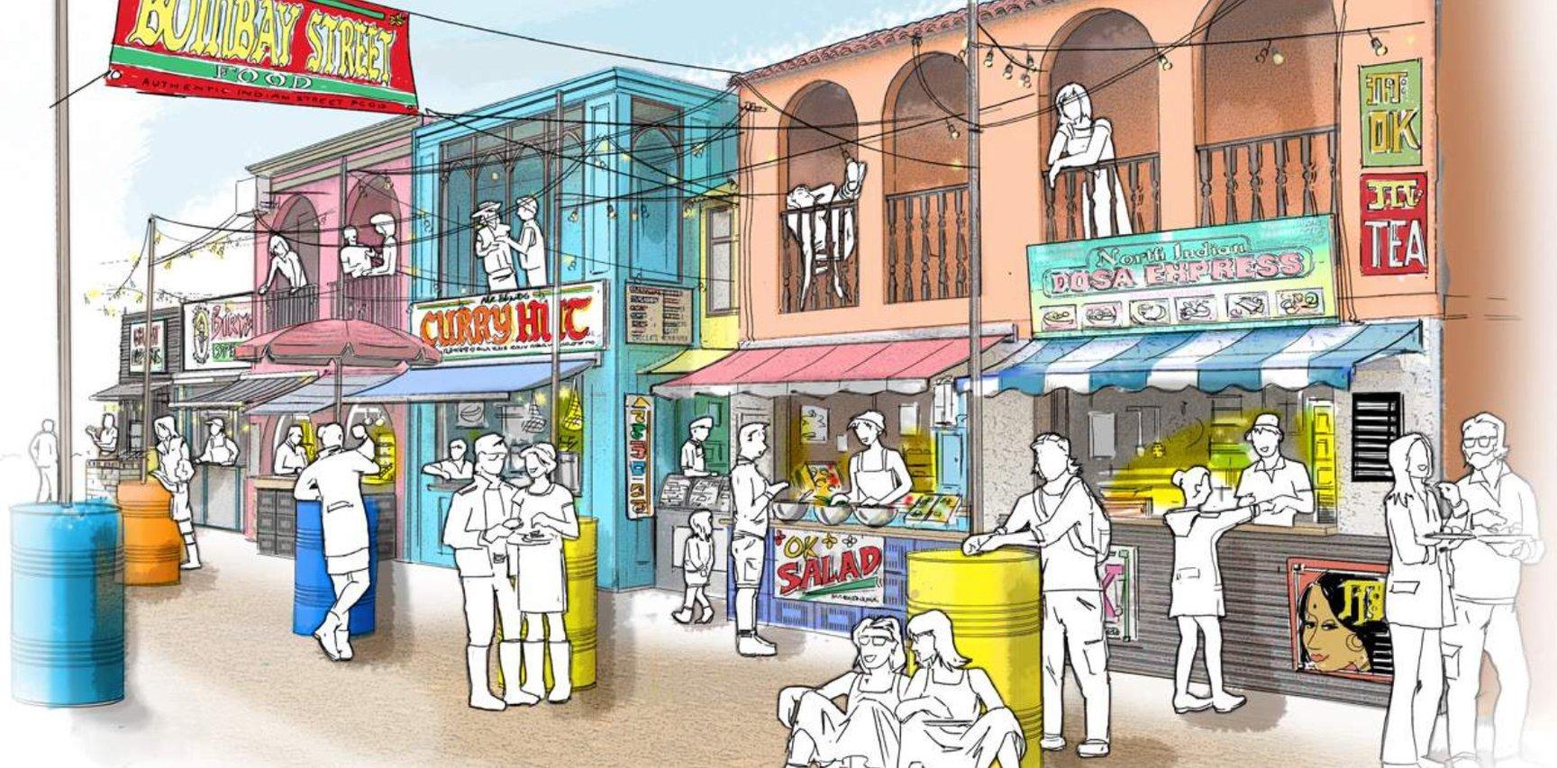 20210527 Indian Summer Fest Street