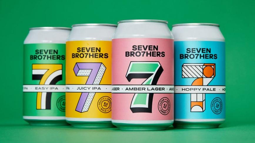 20210427 Seven Bro7Hers Beer Cans 867X488