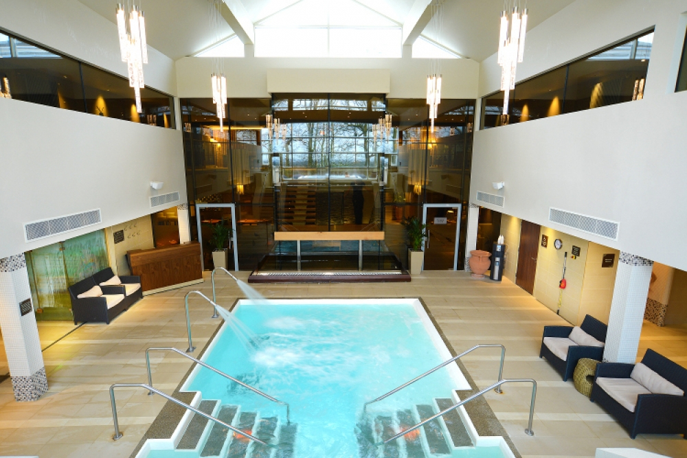 170315 Hydrotherpahy Pool At The Spa Hotel  Ribby Hall Village