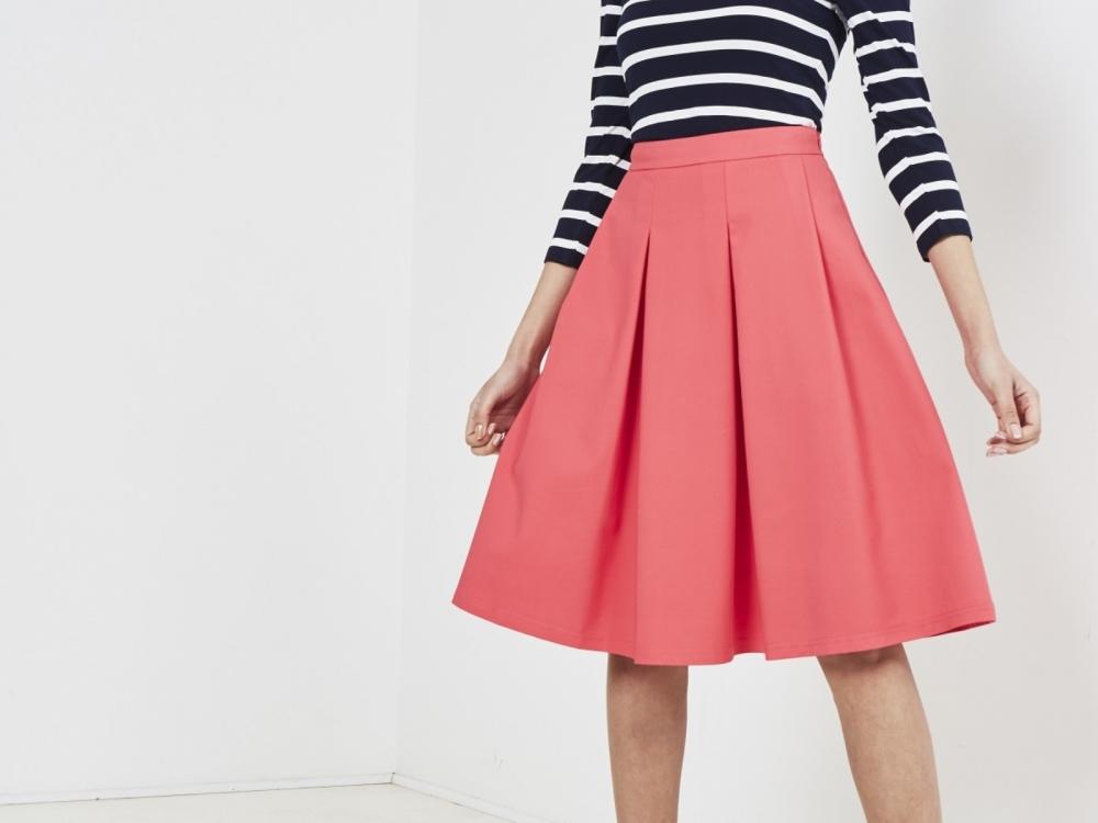17 07 13 Two For Joy Rose Full Skirt