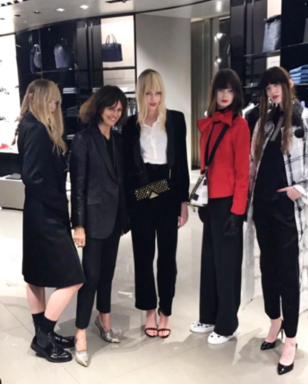 2017 11 1 Marie Claire  Emporio Armani Store Event