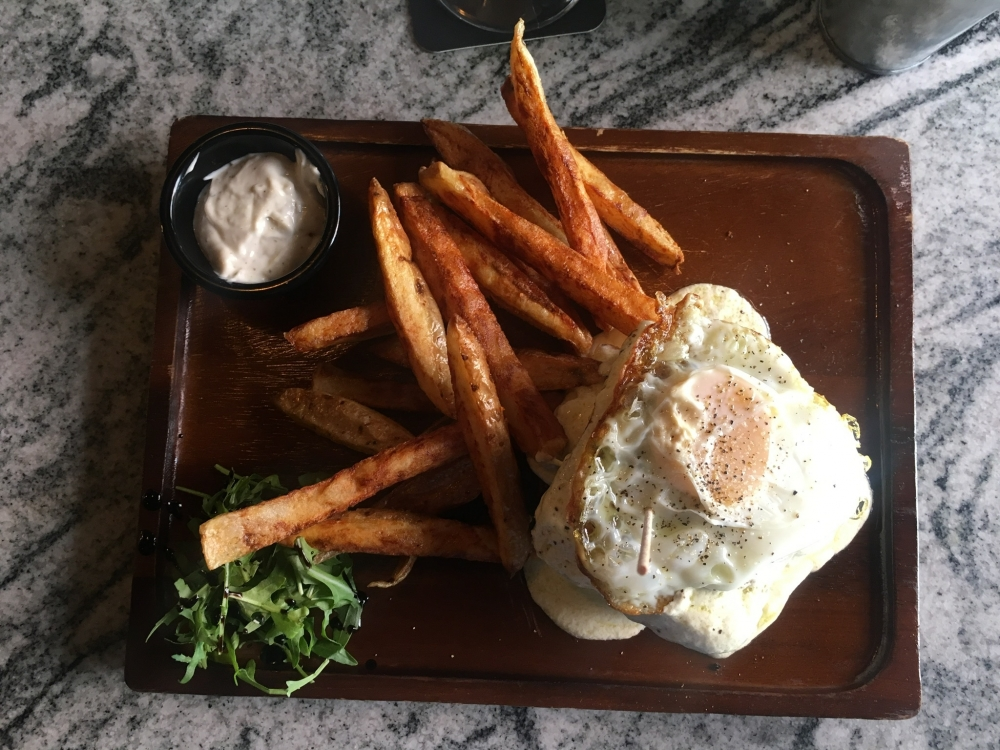 170508 Bock Biere Cafe Croque Madame