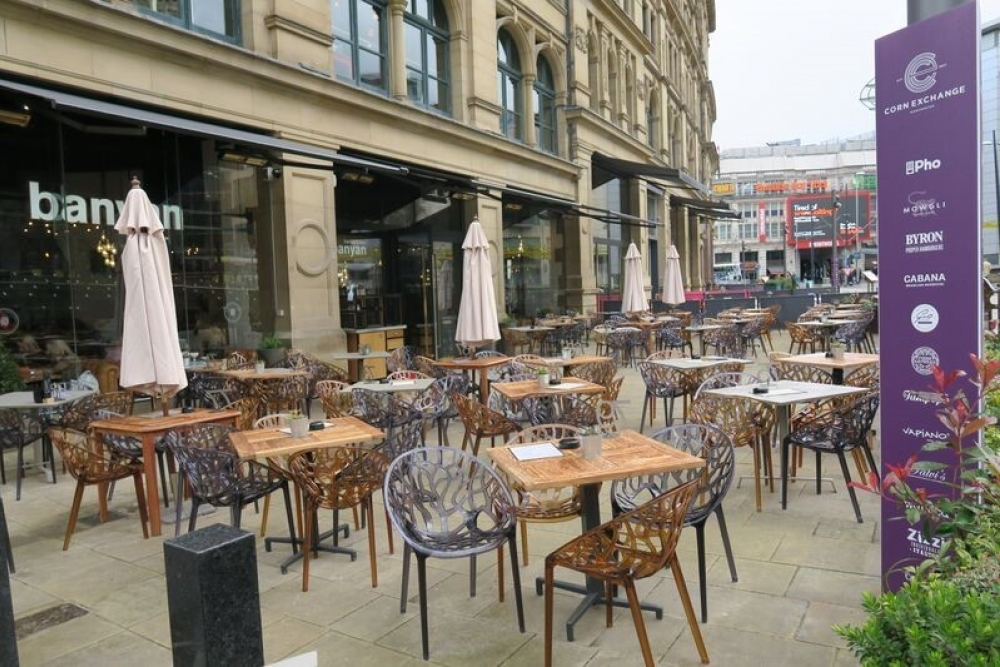 170511 Manchester Outdoor Drinking Terraces Corn Exchange 564Ffg