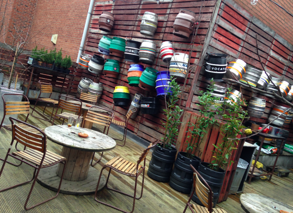 Manchester 39 s best outdoor bars terraces beer gardens for Terrace northern quarter