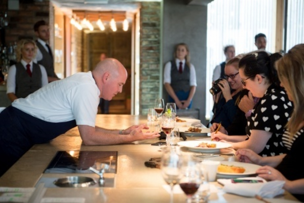 Aiden Byrne Chef Manchester House