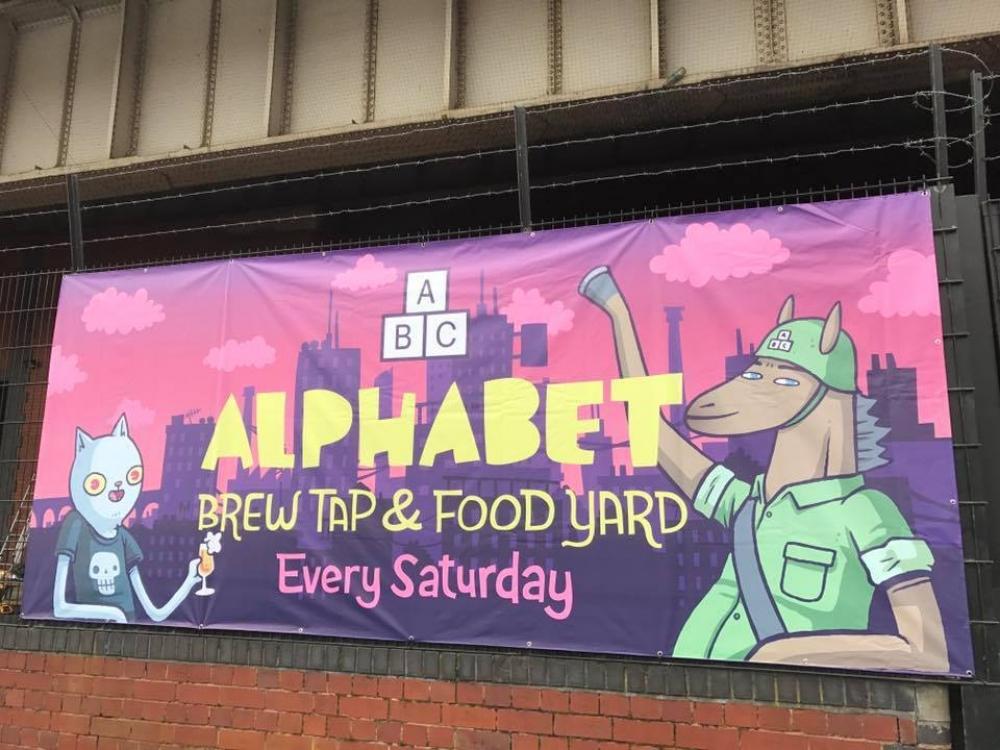 Alphabet Brewery Co Food Fair