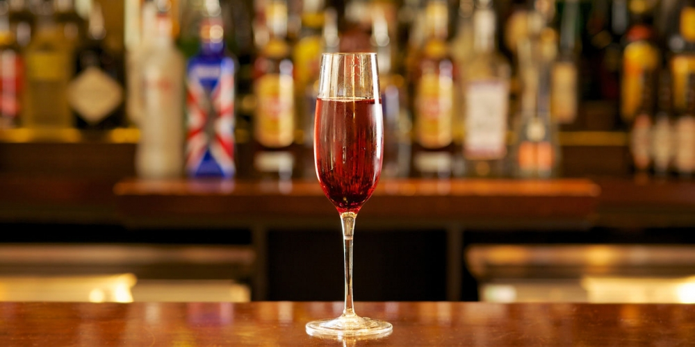 Be At One Kir Royale