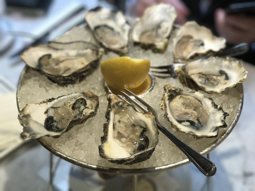 Oysters Randall Aubin