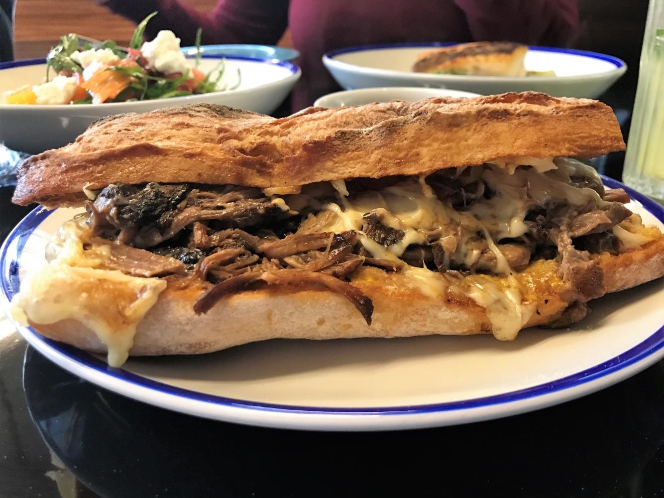 170123 West Corner Brisket Sandwich Wc