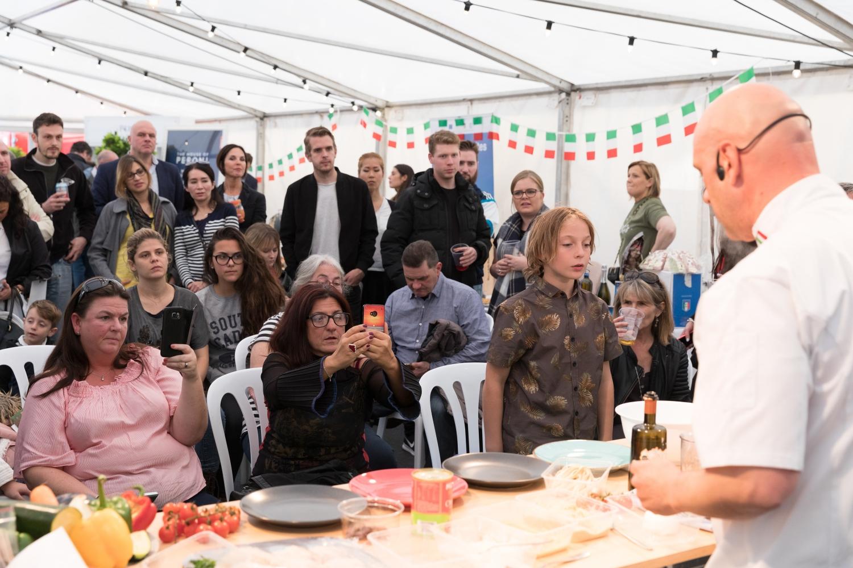 20170427 Italian Festival Demo