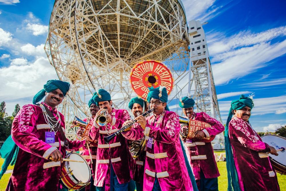 Bluedot 2017 Saturday Rajasthan Heritage Brass Band