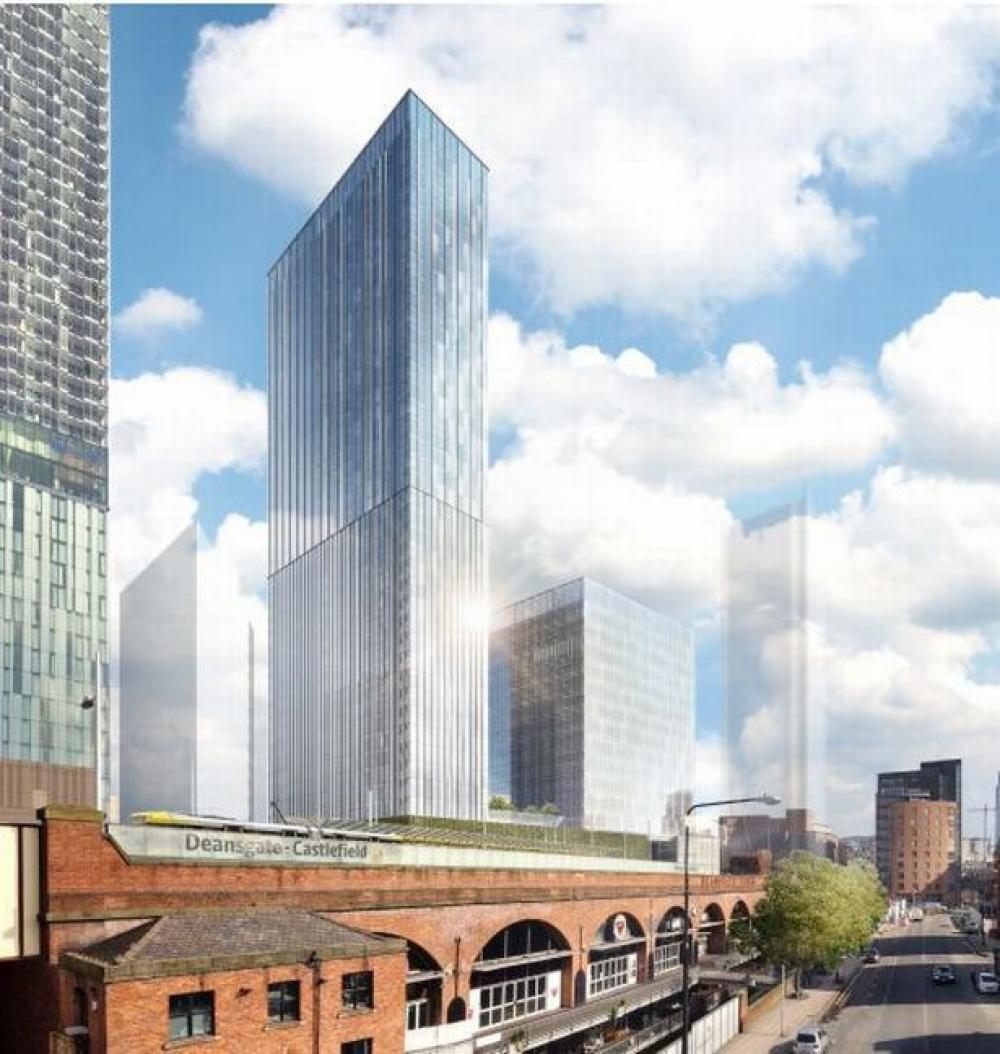 Ian Simpson Albian Street Towers