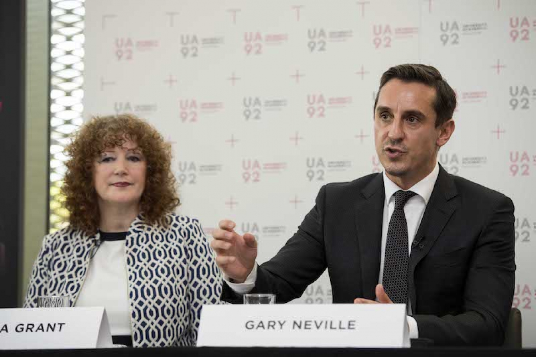 170927 Gary Neville Universtiy Academy 92 Jpl 9344