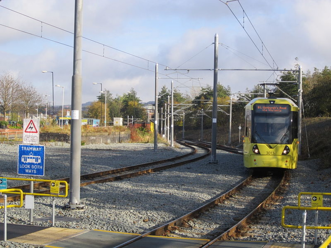 Metrolink Oldham 654F