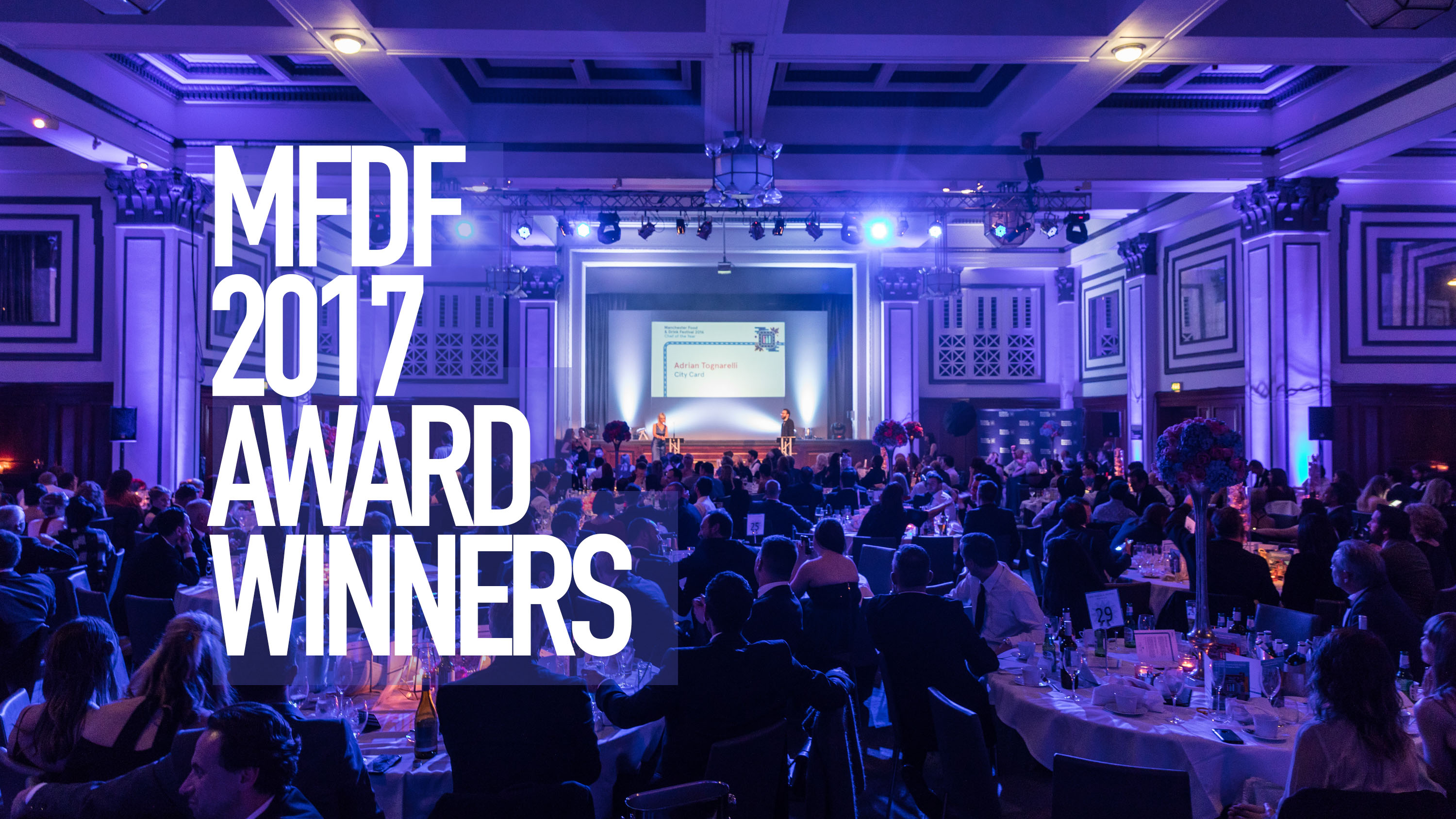 Winners of Manchester Food and Drink Awards 2017