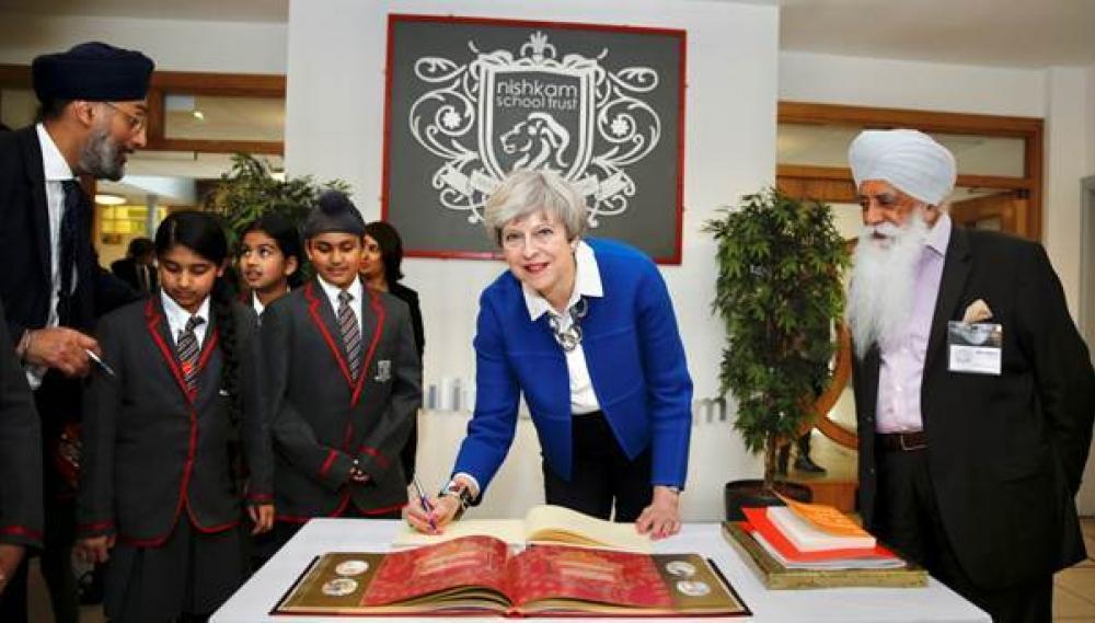 170607 Theresa May School Birmingham Jpg