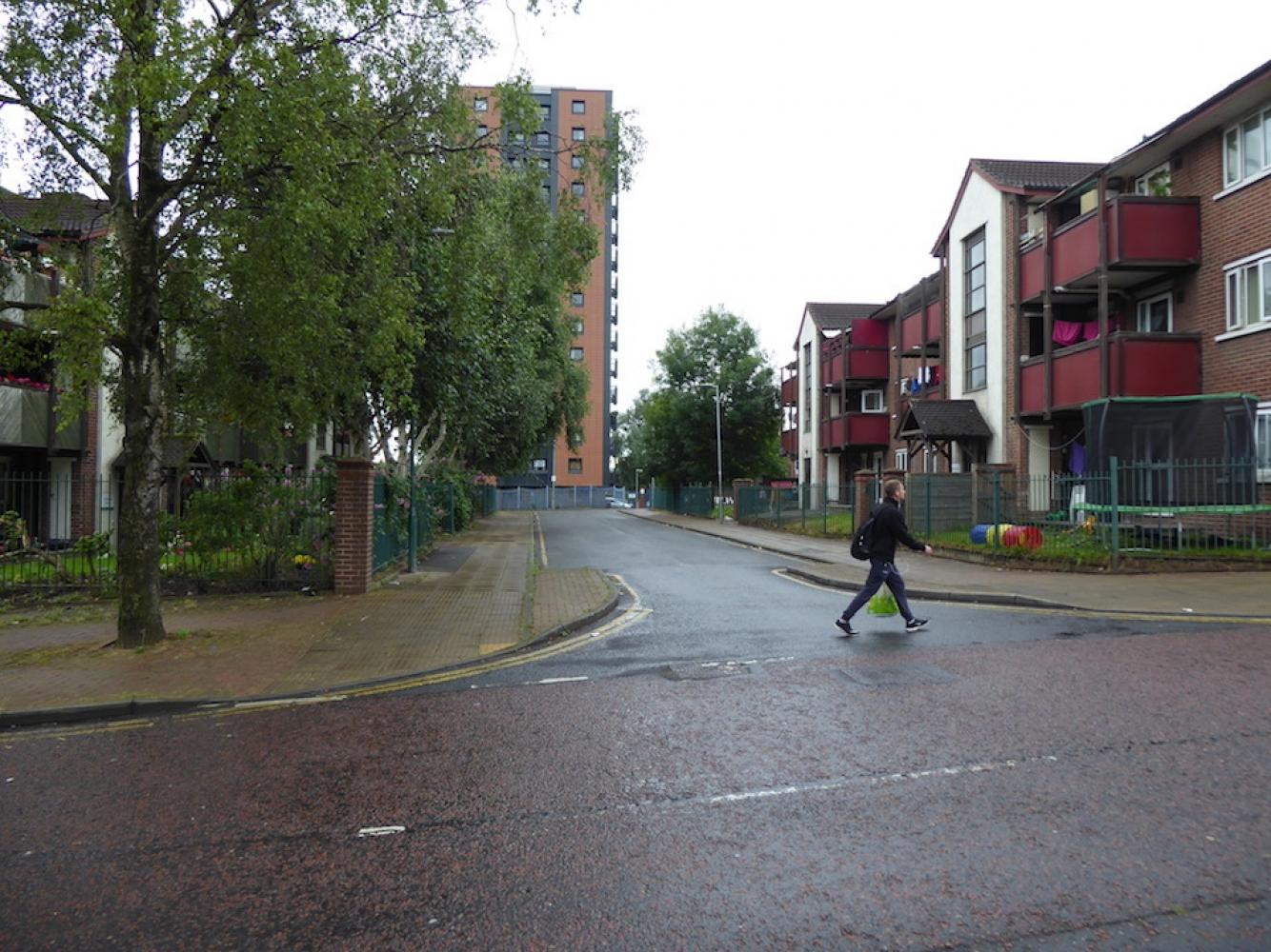170801 Danny Moran Social Cleansing Islington Estate