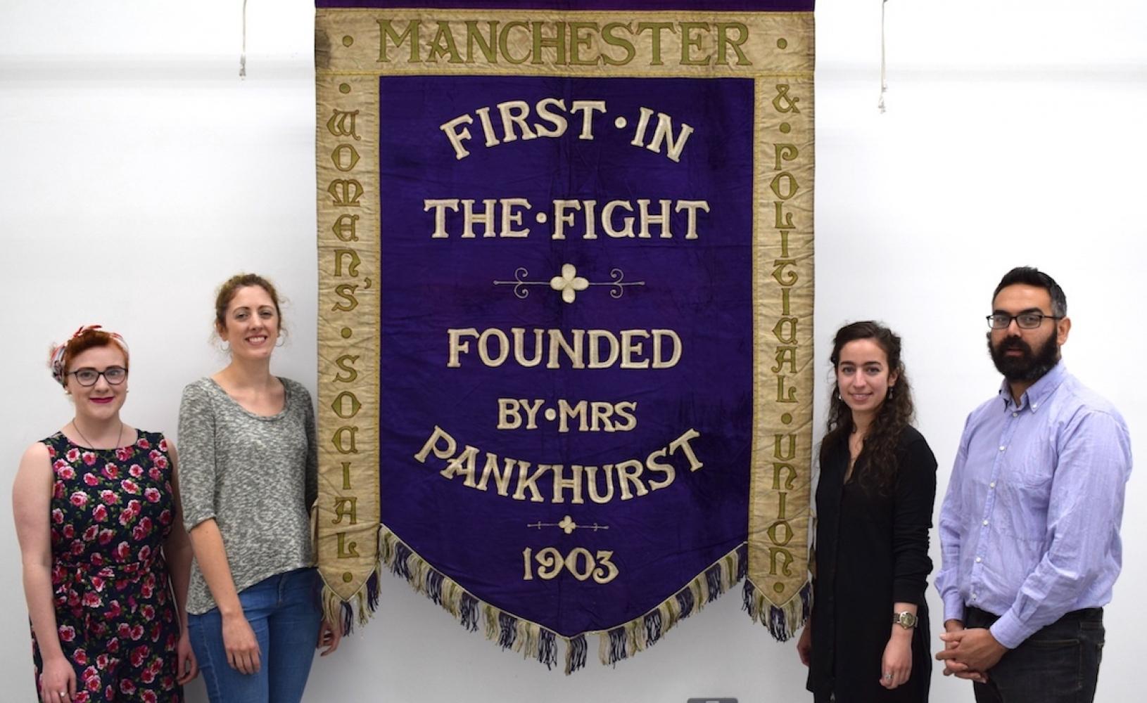 2017 09 07 Suffragette Banner