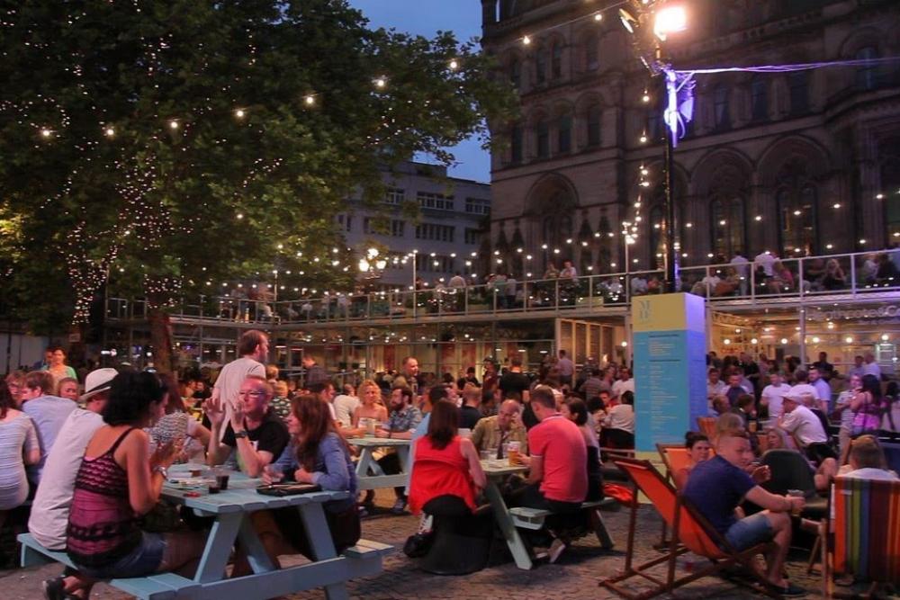 Manchester Food Festival Albert Square