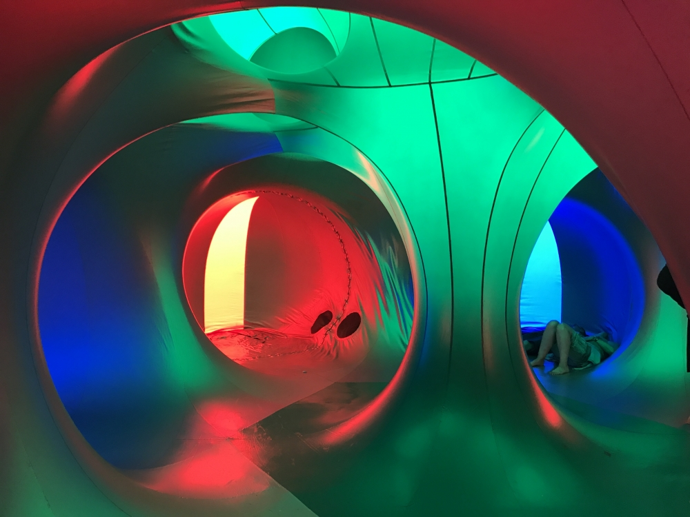 20170710 Bluedot Luminarium Interior