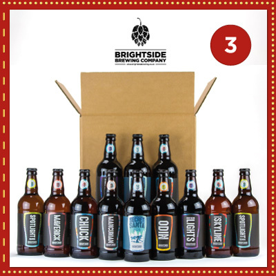 Win a selection pack of 12 locally brewed beers from Brightside Brewing Company