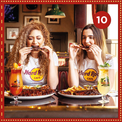 Win a fantastic meal for two at Hard Rock Cafe Manchester