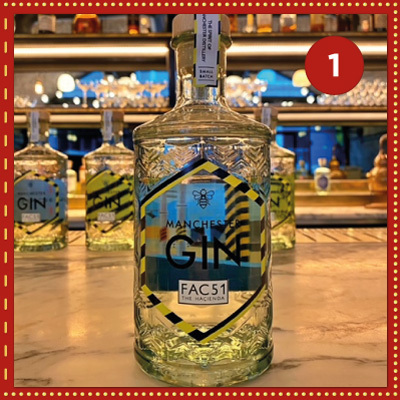 Win 4 bottles of Manchester Gin's Fac51 The Haçienda with Limited-edition Artwork