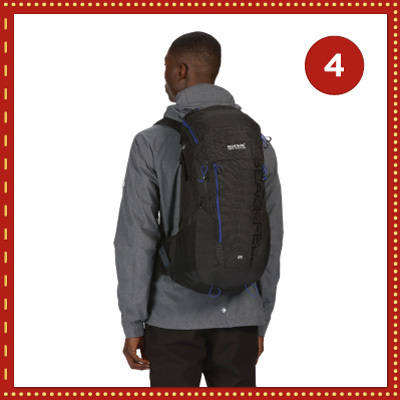 Win a high-tech, high-comfort 25L backpack from Regatta