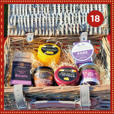 Win a Classic Hamper from The Truckle Cheese Company