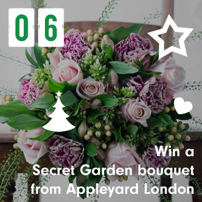 Win a Secret Garden bouquet from Appleyard London