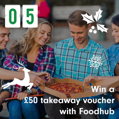 Win a £50 takeaway voucher with Foodhub